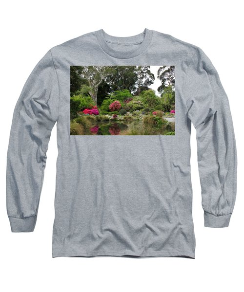 Garden Reflection Long Sleeve T-Shirt