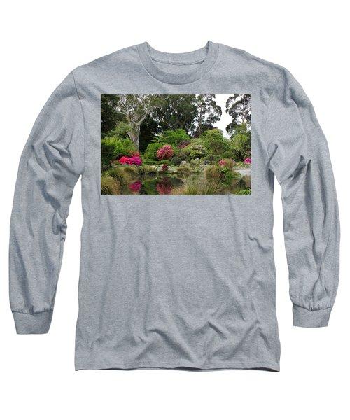 Garden Reflection Long Sleeve T-Shirt