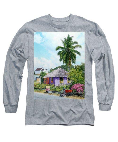 Gardener Hut Long Sleeve T-Shirt