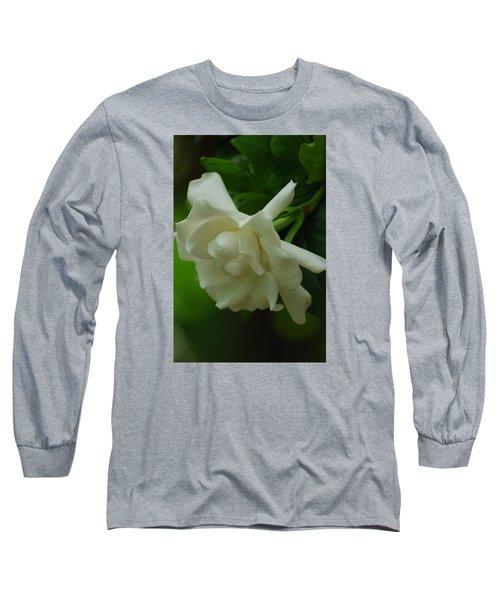 Long Sleeve T-Shirt featuring the photograph Gardenia by Ramona Whiteaker