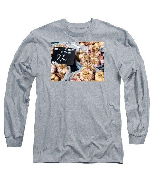 Garlic Two Euros Long Sleeve T-Shirt