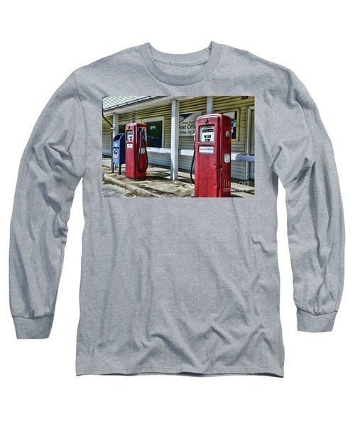 Gas And Mail 1 Long Sleeve T-Shirt by Paul Ward