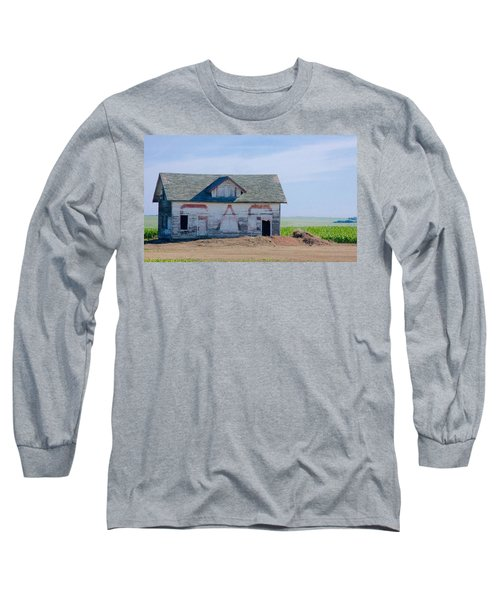 Long Sleeve T-Shirt featuring the photograph Gas by Susan Crossman Buscho