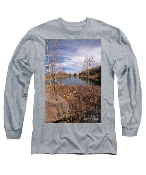Gates Lake Ut Long Sleeve T-Shirt