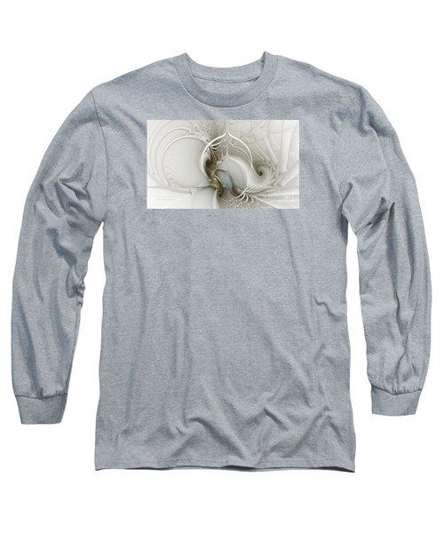 Gateway To Heaven-fractal Art Long Sleeve T-Shirt by Karin Kuhlmann