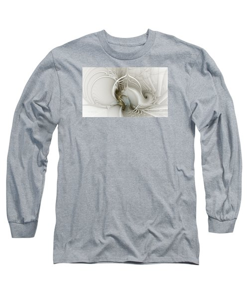 Gateway To Heaven-fractal Art Long Sleeve T-Shirt
