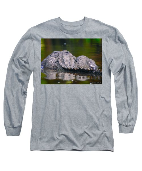 Gator On Ninja Cam Long Sleeve T-Shirt