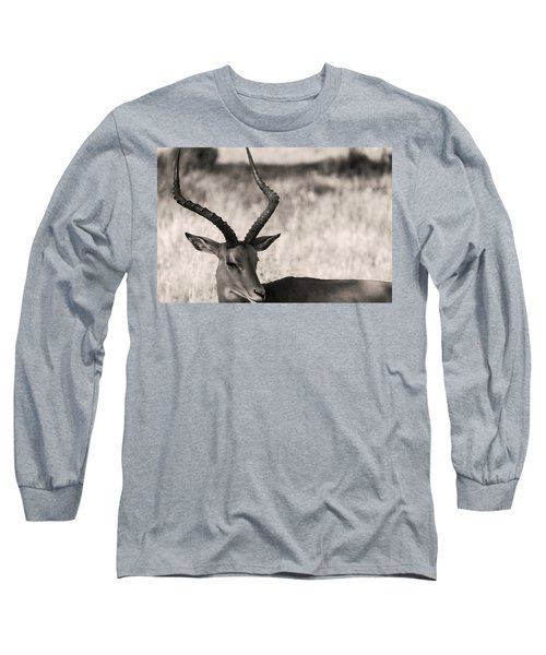 Long Sleeve T-Shirt featuring the photograph Gazella by Stefano Buonamici