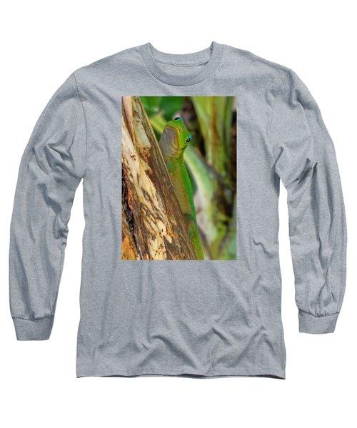 Gecko Up Close Long Sleeve T-Shirt
