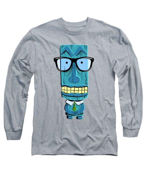 Geeky Tiki Long Sleeve T-Shirt