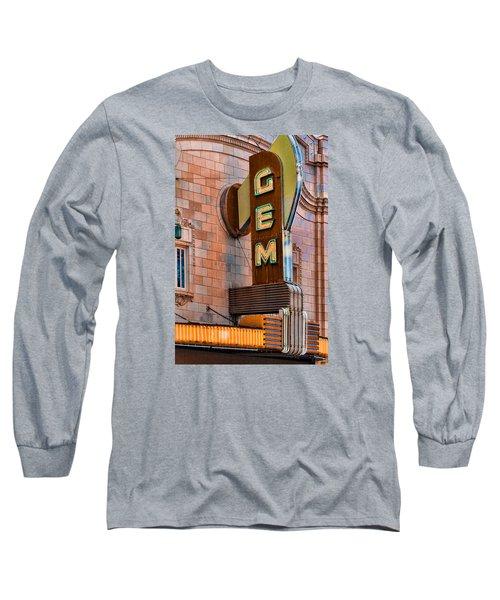 Gem Theater In Kansas City Long Sleeve T-Shirt