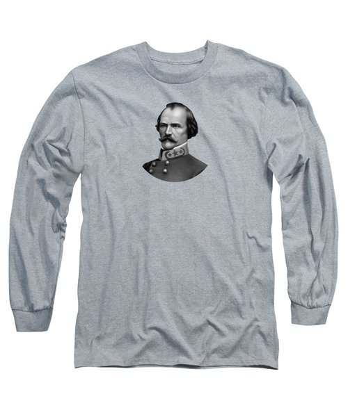 General Albert Sidney Johnston Long Sleeve T-Shirt