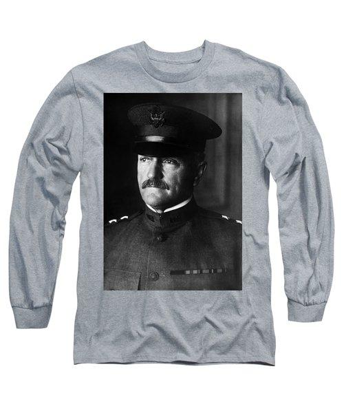 General John Pershing Portrait Long Sleeve T-Shirt