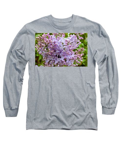 Gentle Purples Long Sleeve T-Shirt