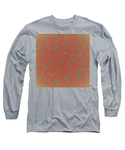 Geometric 1 Long Sleeve T-Shirt by Bonnie Bruno