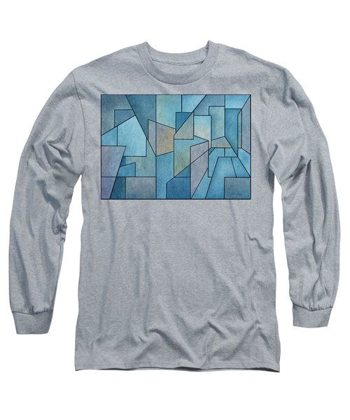 Geometric Abstraction IIi Long Sleeve T-Shirt
