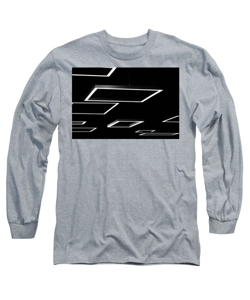 Geometric Light Fixtures At Waukesha State Bank Long Sleeve T-Shirt