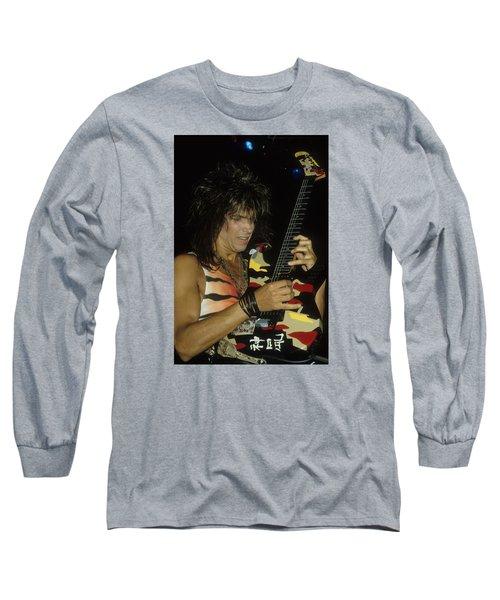 George Lynch Of Dokken Long Sleeve T-Shirt