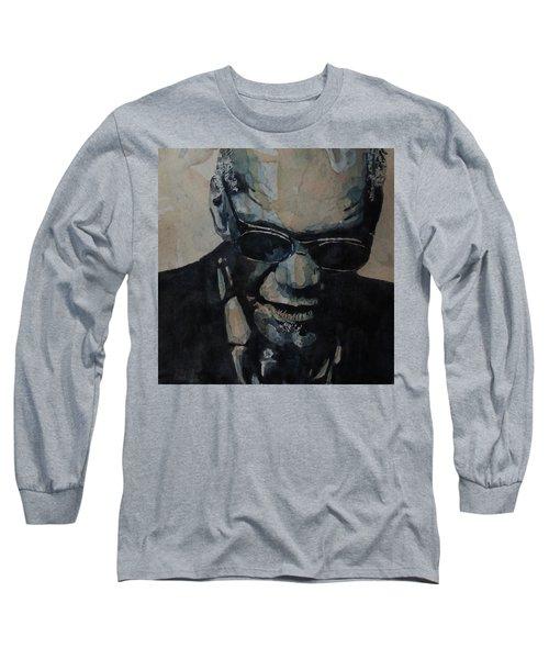 Georgia On My Mind - Ray Charles  Long Sleeve T-Shirt