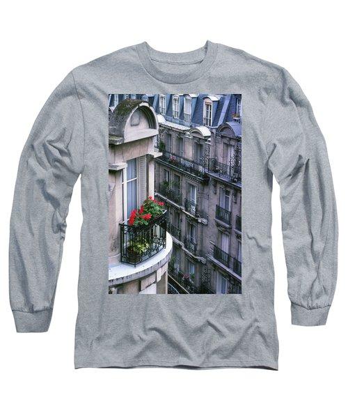 Geraniums - Paris Long Sleeve T-Shirt