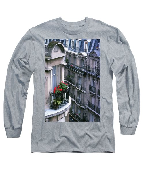 Geraniums - Paris Long Sleeve T-Shirt