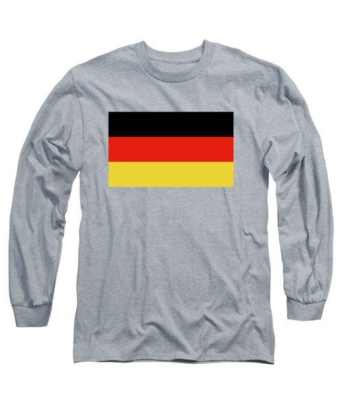 Long Sleeve T-Shirt featuring the digital art German Flag by Bruce Stanfield