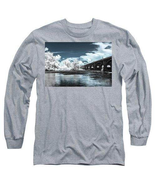 Gervais St. Bridge-infrared Long Sleeve T-Shirt