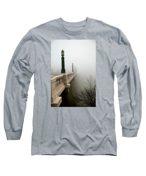 Gervais Street Bridge Long Sleeve T-Shirt by Skip Willits