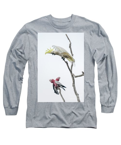Get Off My Perch Long Sleeve T-Shirt