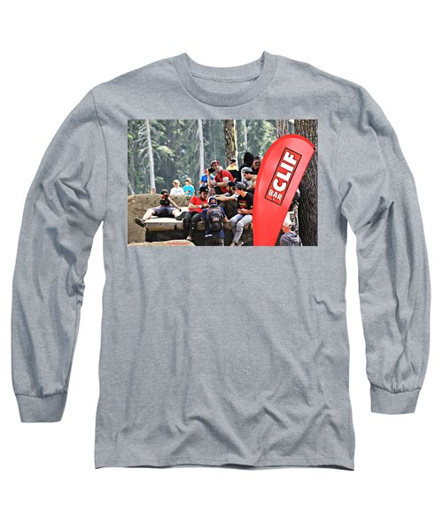 Getting Crowded Long Sleeve T-Shirt