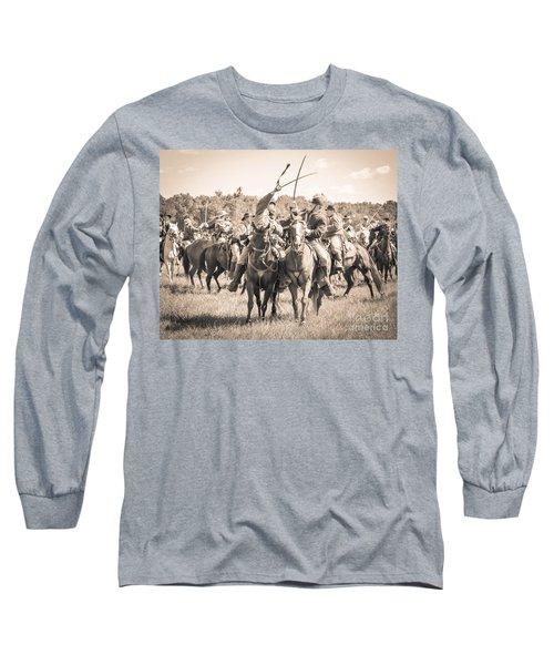 Gettysburg Cavalry Battle 7992s  Long Sleeve T-Shirt