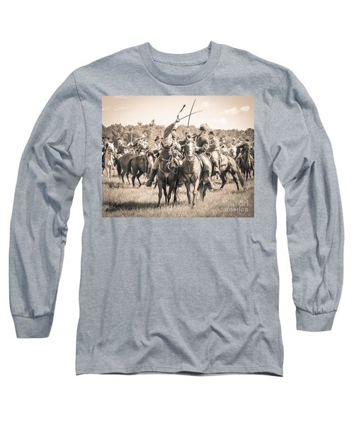 Gettysburg Cavalry Battle 7992s  Long Sleeve T-Shirt