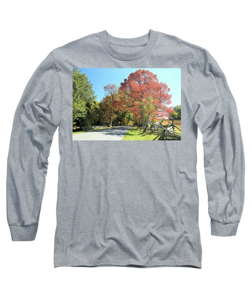 Gettysburg  In The  Fall Long Sleeve T-Shirt