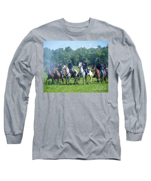 Gettysburg  Union Cavalry Long Sleeve T-Shirt