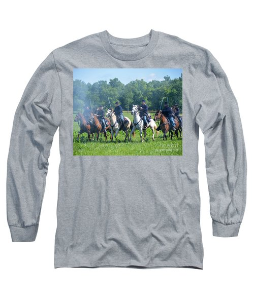 Gettysburg  Union Cavalry Long Sleeve T-Shirt