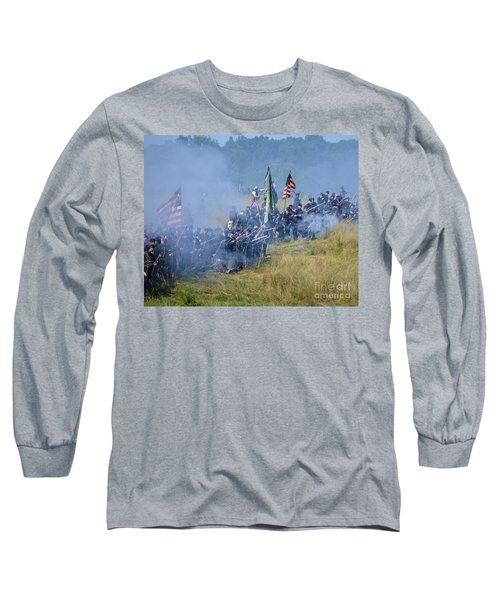 Gettysburg Union Infantry 8947c Long Sleeve T-Shirt