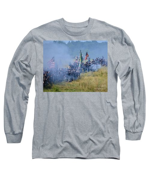 Gettysburg Union Infantry 8947c Long Sleeve T-Shirt