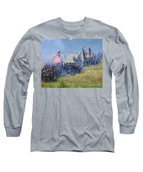 Gettysburg Union Infantry 8948c Long Sleeve T-Shirt