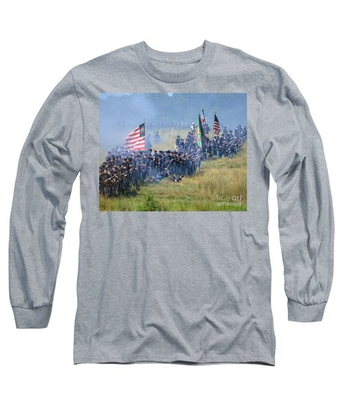 Gettysburg Union Infantry 8948c Long Sleeve T-Shirt