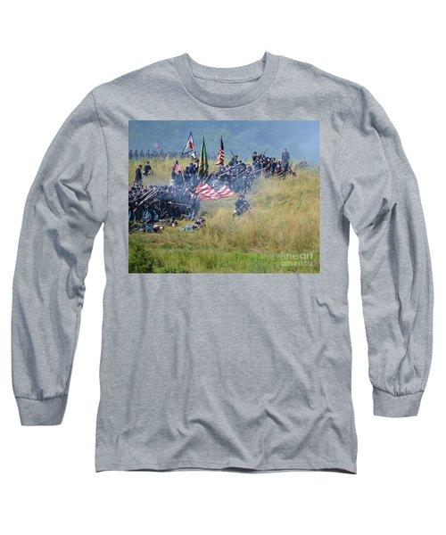 Gettysburg Union Infantry 8963c Long Sleeve T-Shirt