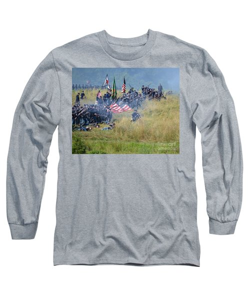 Gettysburg Union Infantry 8963c Long Sleeve T-Shirt