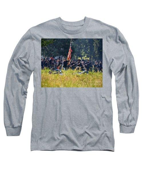 Gettysburg Union Infantry 9348c Long Sleeve T-Shirt