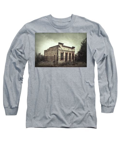 Ghost Cottage Long Sleeve T-Shirt by Robert FERD Frank