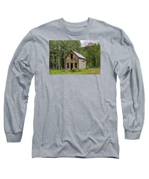 Ghost Town Schoolhouse Long Sleeve T-Shirt