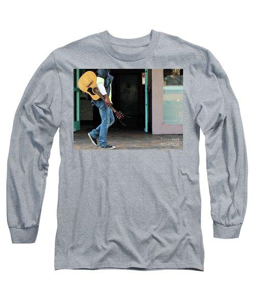 Long Sleeve T-Shirt featuring the photograph Gig Less by Joe Jake Pratt