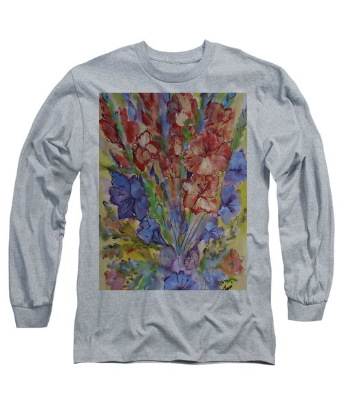Gilded Flowers Long Sleeve T-Shirt