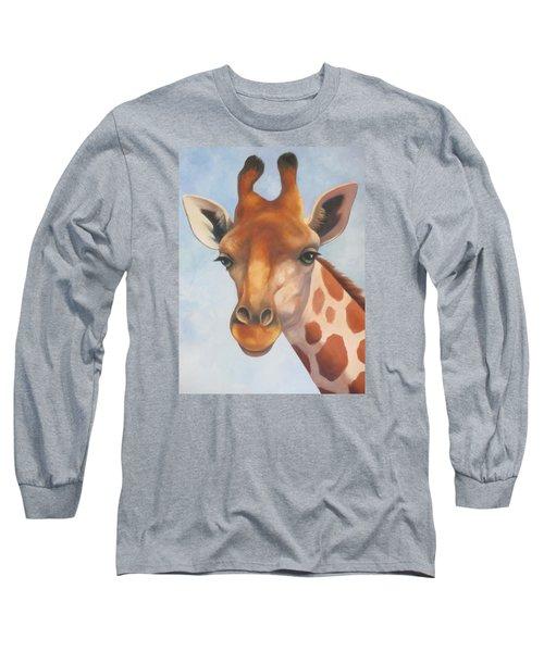 Giraffe Long Sleeve T-Shirt by Vivien Rhyan