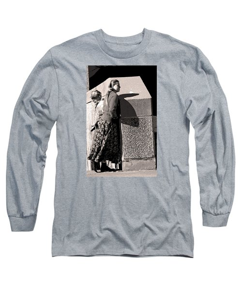 Girl And Dad Long Sleeve T-Shirt