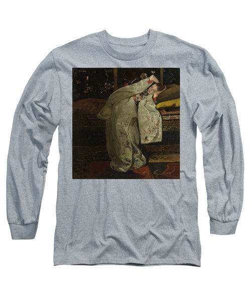Girl In A White Kimono, 1894 Long Sleeve T-Shirt