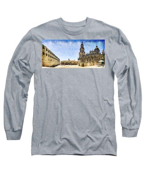 Girl In Santiago - Vintage Version Long Sleeve T-Shirt